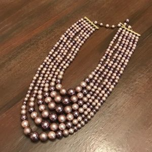 Jewelry - Lavender pearl costume jewelry